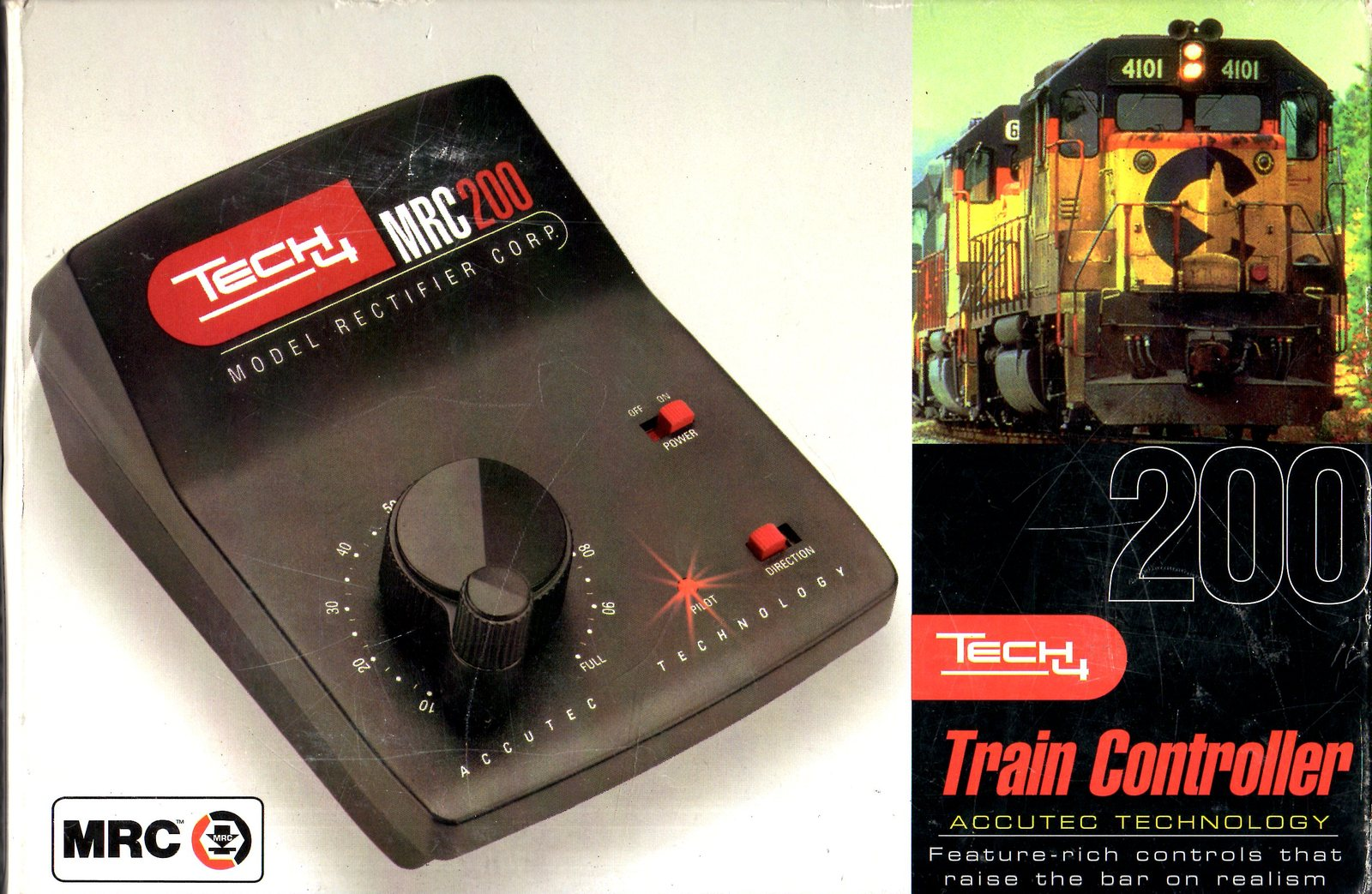 Train Controller - HO, N,O,S, Z and other Scale DC trains