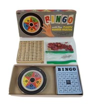 Bingo Board Game Vintage Whitman Incomplete With Plastic Number Selector - $29.39