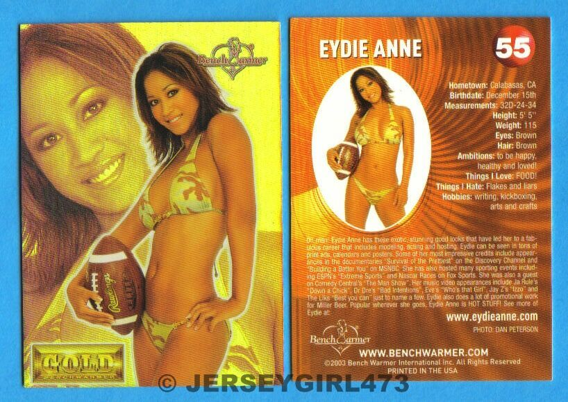Eydie Anne 2003 Bench Warmer Gold Edition Card #55