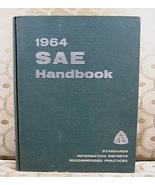 1964 SAE Handbook Standards Information Reports Practices - $18.99