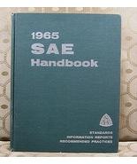 1965 SAE Handbook Standards Information Reports Practices - $18.99