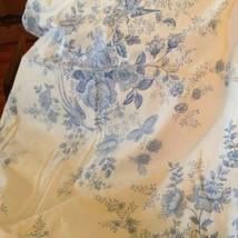 1 Pair Ralph Lauren Toile Blue Queen Pillow Shams (4013) - $34.65