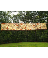 Awesome Vintage MoD Plastic Pom Pom Shower Curtain Topper Butterflies & ... - $20.00