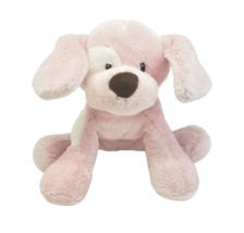 BABY GUND SPUNKY PINK & WHITE PUPPY DOG # 058373 STUFFED ANIMAL PLUSH TO... - $27.12