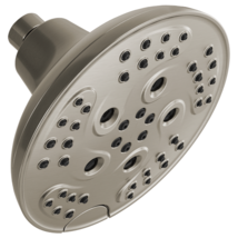 Delta 52666-SS H2Okinetic 5-Setting Raincan Shower head, Stainless - $69.30