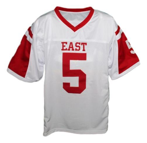 Vince howard  5 east dillon lions football jersey white   1