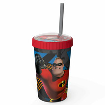 Disney Pixar Incredibles 2 Mr. Incredible 16oz Travel Cup Red - $14.98