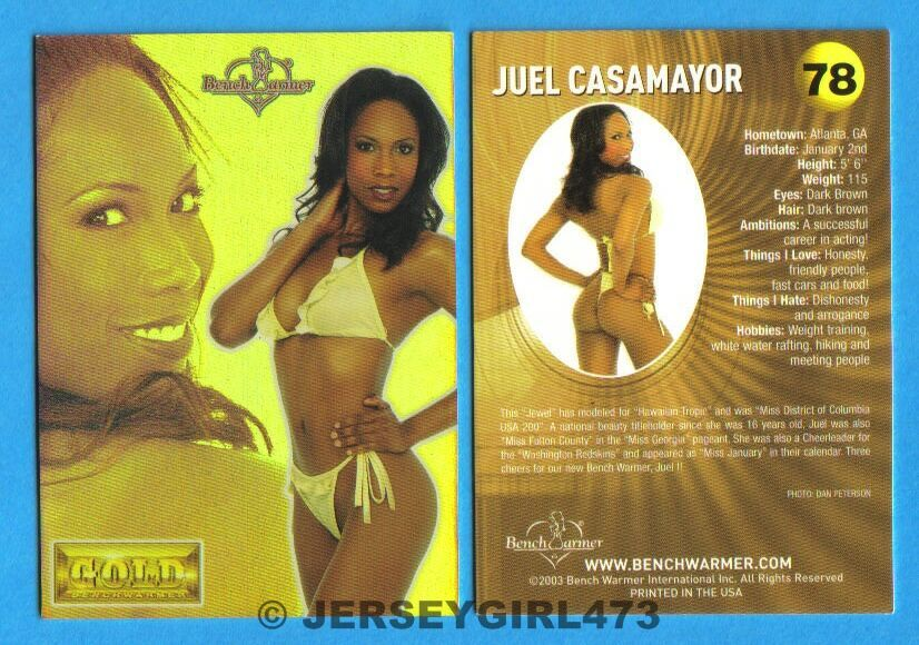 Juel Casamayor 2003 Bench Warmer Gold Edition Card #78