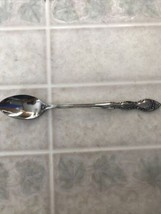 """Imperial FLEURETTE Stainless Flatware -- Iced Tea Spoon 7 1/8"""" new in pa... - $13.09"""