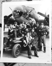 Memphis Belle Airplane and Crew  Photograph 8 x 10 - $8.50