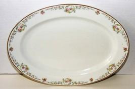 """Platter by Haviland Limoges 11.5"""" long - Antoinette Pattern - $30.00"""
