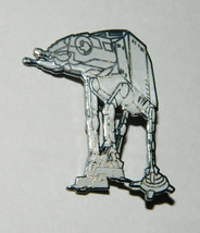 Star Wars Imperial AT-AT Figure Cloisonne Metal Pin 1993 NEW UNUSED - $8.79