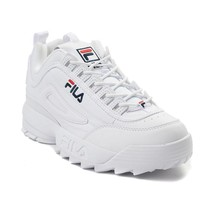 NIB*Fila Disruptor II Premium Sneaker*White*Size 6 6.5 7 7.5 8 8.5 9 9.5... - $135.00