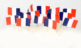 "1000 Count Box 2.5"" French/France Flag Mini Too... - $48.99"