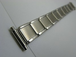 100% stainless steel vintage watch band expansion bracelet 16mm Oyster - $22.91