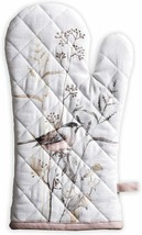 Nice Oven Mitt Fabric Bird Oven Potholder Colorful Quilted Cotton  - $29.00