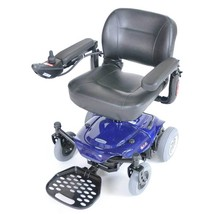 Drive Medical Cobalt Travel Power Wheelchair-Blue - $1,459.00