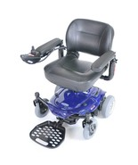 Drive Medical Cobalt Travel Power Wheelchair-Blue - $1,294.13