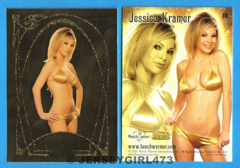 Jessica Kramer 2007 Bench Warmer Gold Edition Card #16