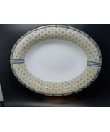 Wedgwood samurai serving bowl excellent condition 10 x 7.5 x 2.25 pretty... - $20.00