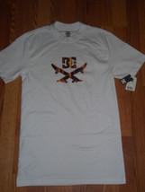 DC Shoes Ellipse White T-Shirt Size Small BNWT - $20.99