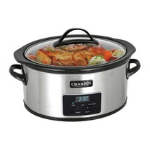 Crock-Pot® 6 Qt. Programmable Slow Cooker with Little Dipper® Warmer - $52.26