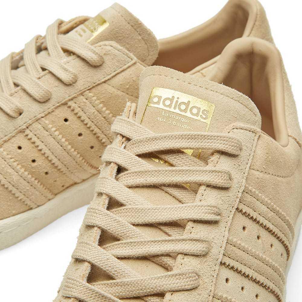 Adidas Originaux Superstar 80s Baskets Hommes Marron Baskets - BB2227 image 6