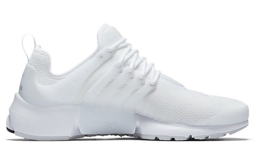 pretty nice 51888 83fb9 NIKE AIR PRESTO WHITE PURE PLATINUM WOMEN SIZE 7 NEW WITH BOX (878068-