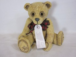 "Kensington Bears Collection Holly Grove Resin Bear 1997 8"" Tall - $29.69"