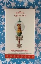 Hallmark Ornament 2017 Disney Winnie The Pooh Baby's First Christmas NEW - £6.77 GBP