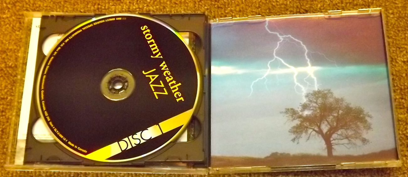 Stormy Weather Jazz 2 compact Discs CDs