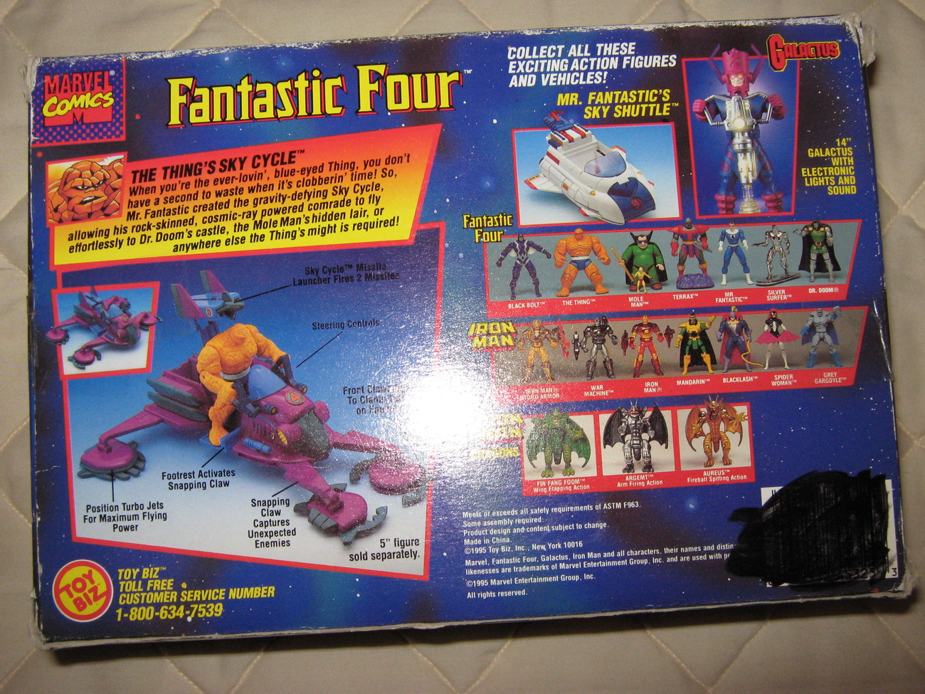 Fantastic Four,the Thing's Sky Cycle