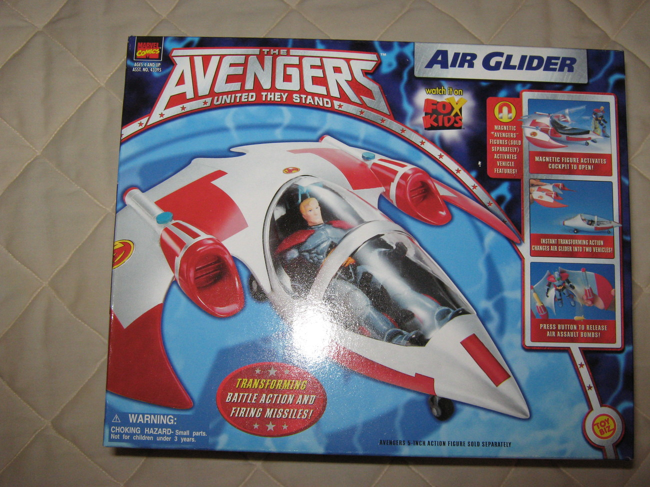 The Avengers United they Stand Air Glider