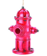 Fire Hydrant BIRDHOUSE and Feeder. Firefighter's Fire Hydrant Birdhouse ... - $21.77