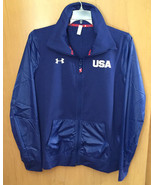 UNDER ARMOUR USA BLUE HOME OF THE BRAVE WOMEN'S JACKET Size XL - $72.62