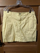 CJ Banks Yellow Size 14 Skort Skirt Christopher Modest Womens - $19.99