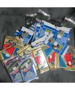 30 Unopened Hockey Packs, 1993 &1995 Topps, 1990 Pro Set (10 Each), Free... - $48.61