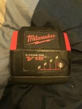 Milwaukee 48-11-1830 V18 18 Volt Lithium Ion 3.0Ah Battery Used - $57.42
