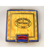Limoges Partagas 1845 Cigar Box with Cigars Inside - Tobacco - Peint Main - $99.00
