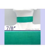 Jade VELVET Choker 7/8 inch 22 mm wide Custom Size Handmade USA teal gre... - $5.75