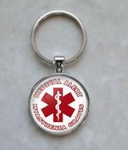 Myasthenia Gravis Medical Alert Keychain - $14.00+