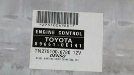 Lexus RX300 ECM ECU Engine Control Module 89661-0E141 275100-6780 image 3