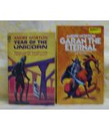 Garan The Eternal and Year of the Unicorn Andre Norton - $25.00