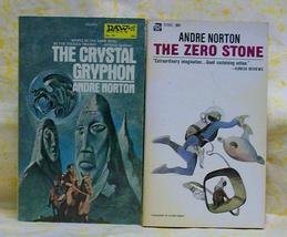 Zero Stone & The Crystal Gryphon Andre Norton - $20.00