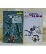 Zero Stone & The Crystal Gryphon Andre Norton - $20.00