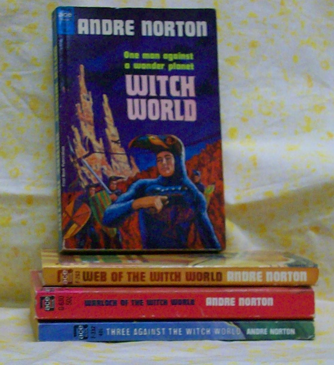 Witch World 4 titles  Andre Norton