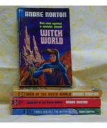 Witch World 4 titles  Andre Norton - $35.00