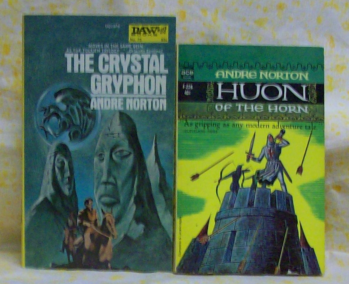 The Grystal  Gryphon & Huon of the Horn Andre Norton