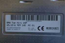 BMW Top Hifi DSP Logic 7 Amplifier Amp 65.12-6 929 140 Herman Becker image 7