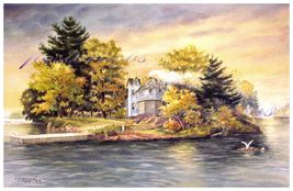 Autumn's Gold  by Larry Sherman  ( open Print ) - $65.00